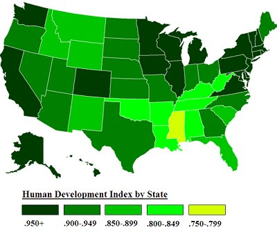 5. Connecticut the Best State for Human Development